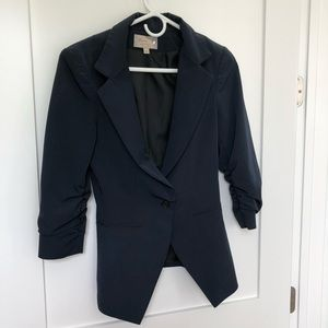 Elizabeth and James navy blazer 2